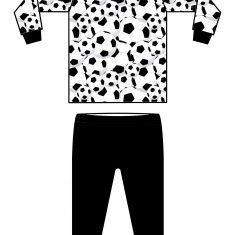 pyjama soccer 1 klein formaat