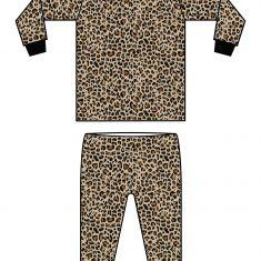 pyjama leopard 2 klein formaat